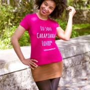 Carla 3, t-shirt rosa, tamanho S