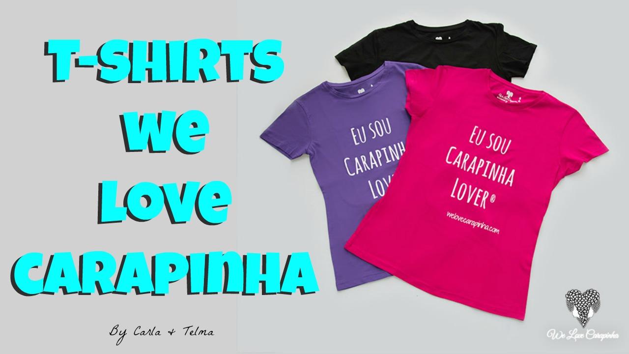 Já tens a nossa T-shirt?